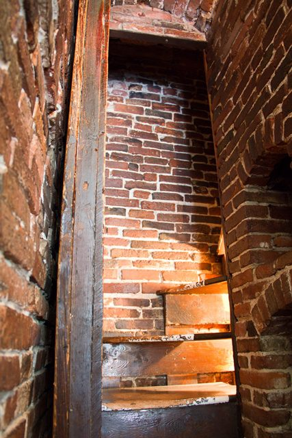 Secret Staircase House of the Seven Gables Salem MA