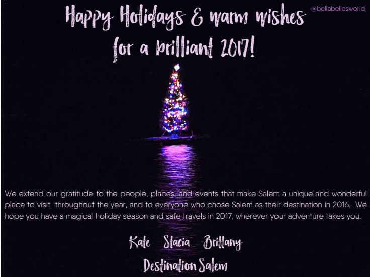 Salem MA Holiday Card