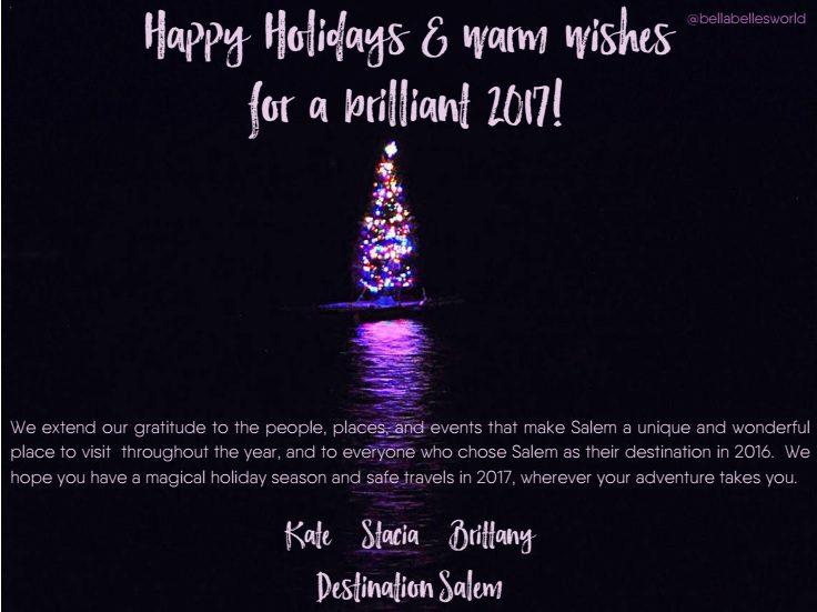 Salem MA Holiday Card